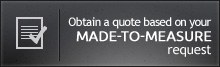 Obtain a quote based on your made-to-measure request